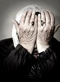 Tristeza en los mayores.